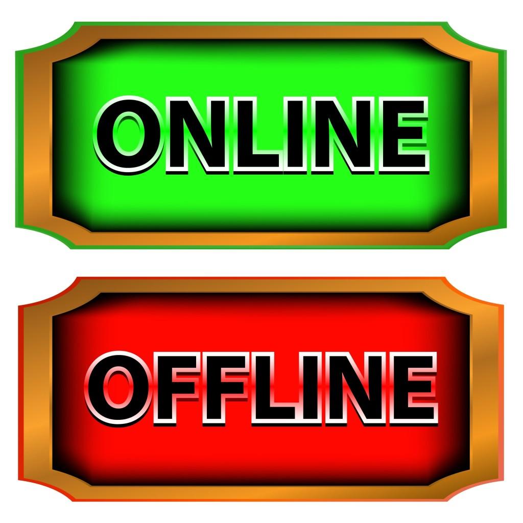 online,offline