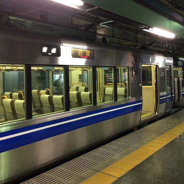 3日ほど金沢に帰ります。そして次の目的地へ。