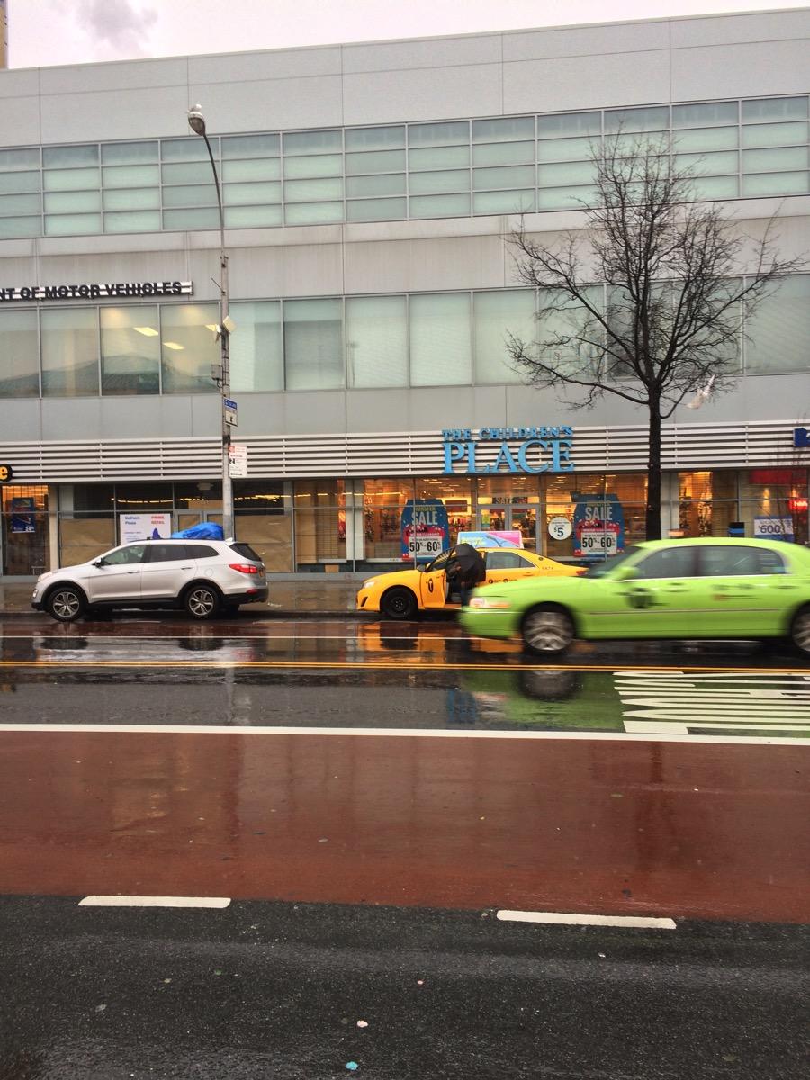 ニューヨークでお世話になったタクシー
