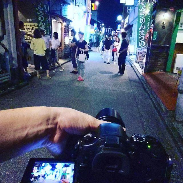 片町で1人撮影。