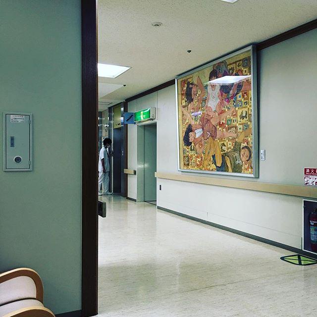病院で子供の薬を処方してもらいました。アイランドに行くので万が一抗生剤ない可能性(1パーセント以下だけど)に備えて。相談するもんです。