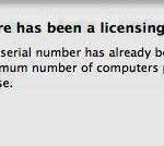 ScreenFlowのライセンスキーは1つだけ(リセット方法)