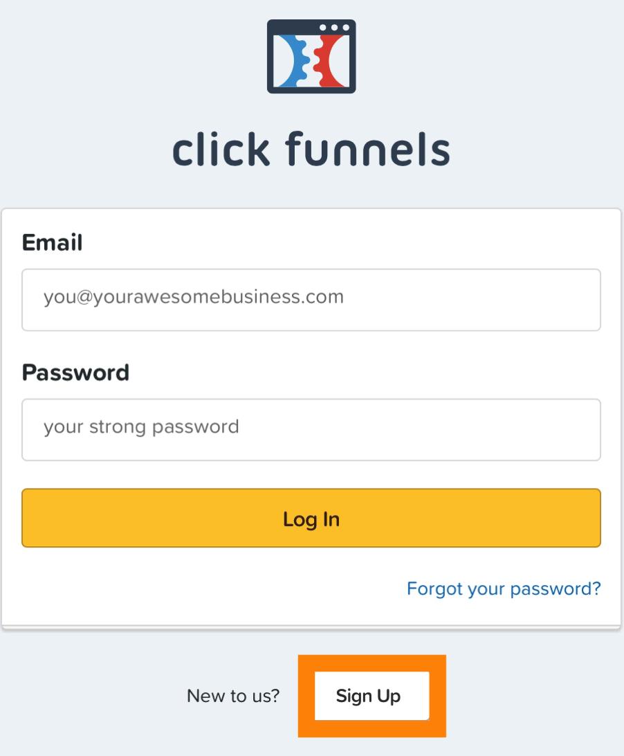 01 2 ClickFunnelsでアカウントを作成し支払い情報を記入する