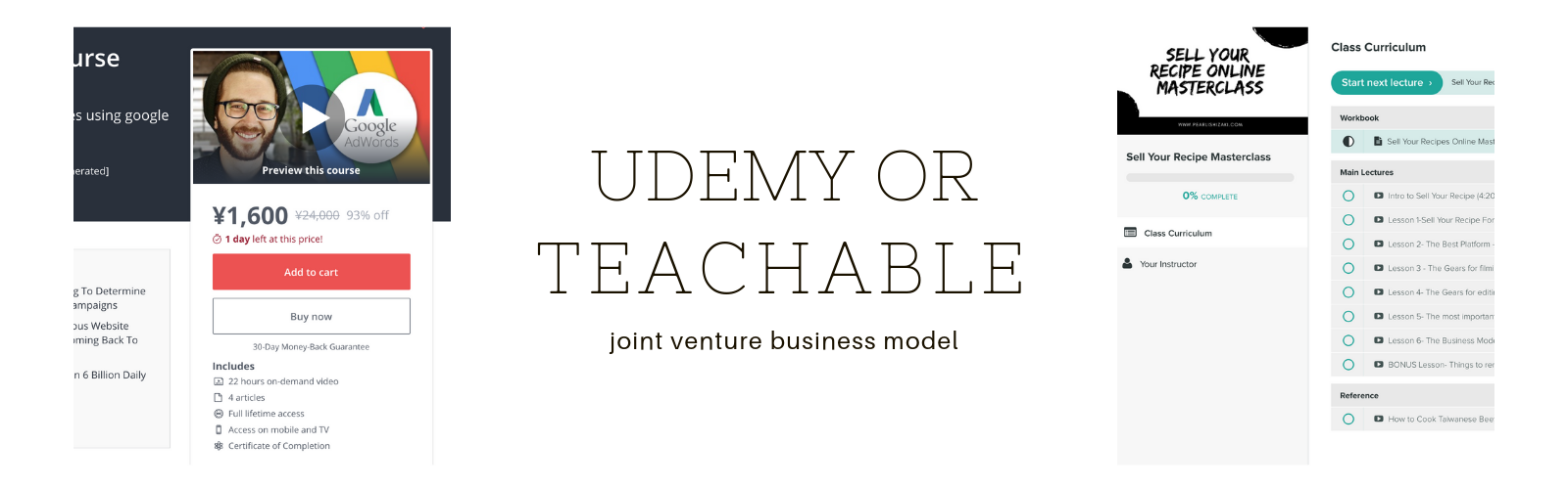 Teachable or udemy